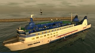 European Ship Simulator: They actually let me in a passenger ferry ;)