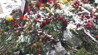 Заброшенная могила Немцова
