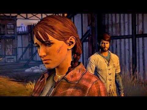 Kate Leads Javier to Eleanor's Hideout in Richmond (Walking Dead   Telltale Games)