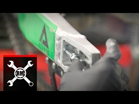 How To: Tusk Swing Arm Chain Adjuster Bolt Repair Kit