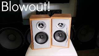 Blowing Cheap LG Speakers!!