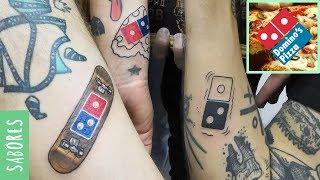 El 'error' de Domino's Pizza al regalar pizza gratis de por vida a sus clientes tatuados