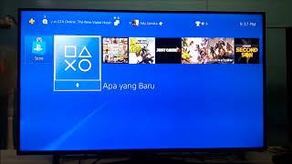 CARA SETTING INTERNET DI PS4 VERSI BAHASA INGGRIS DAN INDONESIA