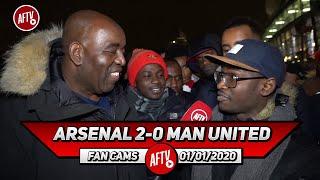 Arsenal 2-0 Man United | Sokratis Didn't Put A Foot Wrong Today! (Tade)