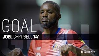 MNT vs. Costa Rica: Joel Campbell First Goal - Nov. 15, 2016