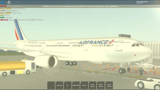 Roblox a330 AirFrance flight!