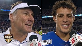 Florida found a way to beat Miami behind Feleipe Franks - Dan Mullen | ESPN College Football