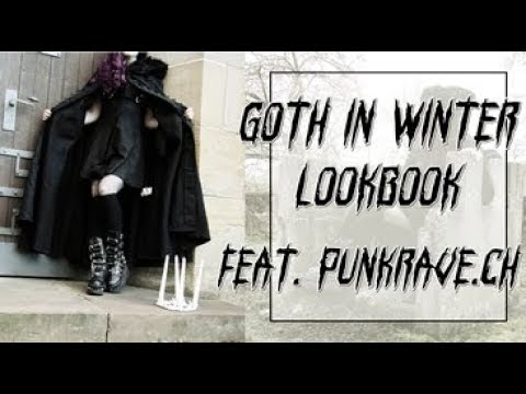 Goth in Winter Lookbook feat. Punkrave.ch I Punkrave Haul I Mademoiselle Tineoidea 9