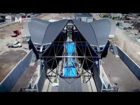 Sydney Metro: track laying deep under Sydney