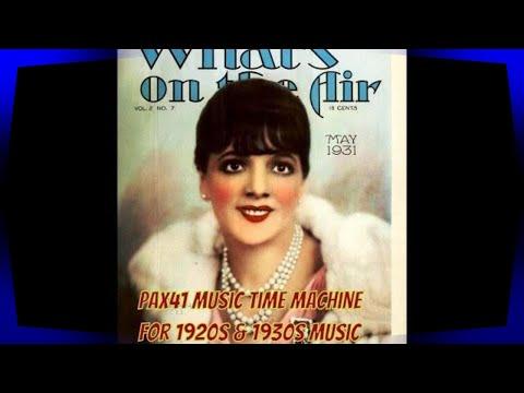 An Evening Of Fantastic 1930's Music   @Pax41