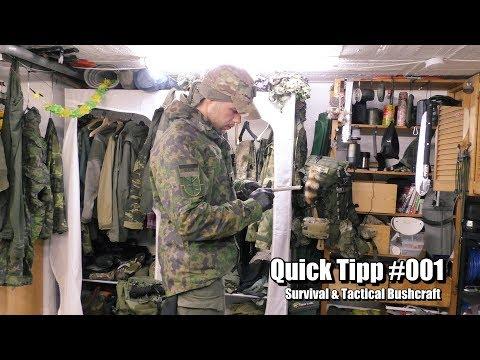 Bushcraft & Survival Brennpaste für Schlechtwetter und nasses Holz.  Quick Tipp #001
