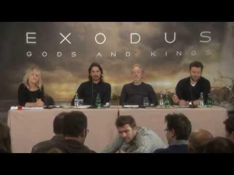 Exodus : Gods and Kings -  Conférence de presse à l'hotel Bristol - Paris.