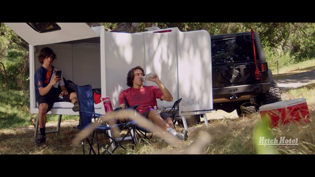 Girls trailer hitch in her