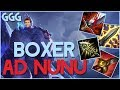 BOXER NUNU SLAPS DOWN BARON AND THOSE WHO OPPOSE HIM!! (and his yeti) - League of Legends
