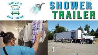 Build A Bus Home: Shower Trailer for Homeless