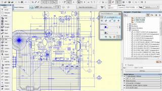 ArchiCAD Tutorial | How to Trace 2D Drawings to Quickly Create a 3D Model