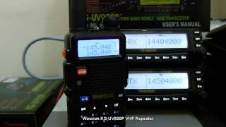 Wouxun KG-UV920P VHF Repeater System