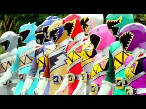 Power Rangers Dino Super Charge Vs Sledge Part 1