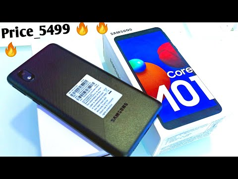 Samsung M010 Core Black Unboxing , First Look & Review !! Samsung M01 Core 1GB/16GB Price & spec