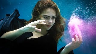 Halloween UNDERWATER Photoshoot | Kamri Noel
