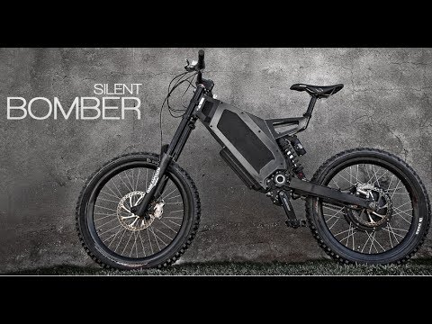 Stealth Bomber Electric Bike Sweden 72v 18ah Lifepo4 65a