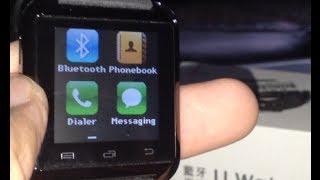 u watch smart watch quick review
