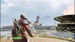 God of War - حل لغز يطلعلك اقوى اضافة سلاح في اللعبه