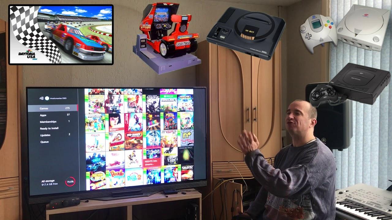 Oldschool Games On Xbox One X Youtube