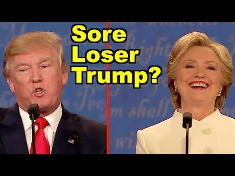 Sore Loser Trump? Final Donald Trump v Hillary Clinton Debate! LV Live Debate Clip Roundup!