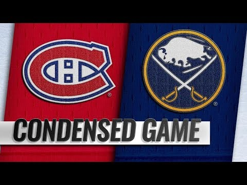Montreal Canadiens vs Buffalo Sabres – Oct.25, 2018 | Game Highlights | NHL 18/19 | Обзор матча