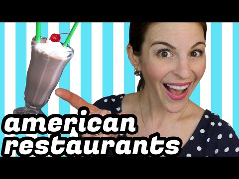 American Restaurants - WHAT TOURISTS NEED TO KNOW
