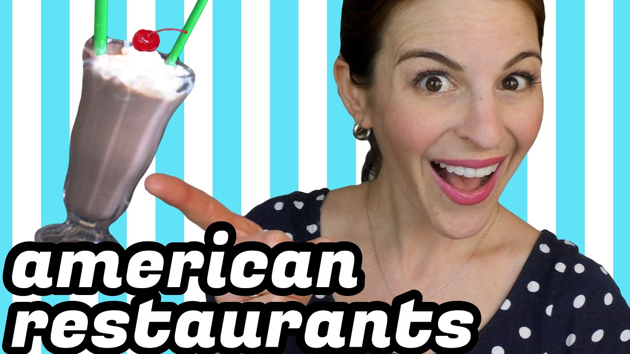American Restaurants - WHAT TOURISTS NEED TO KNOW - YouTube