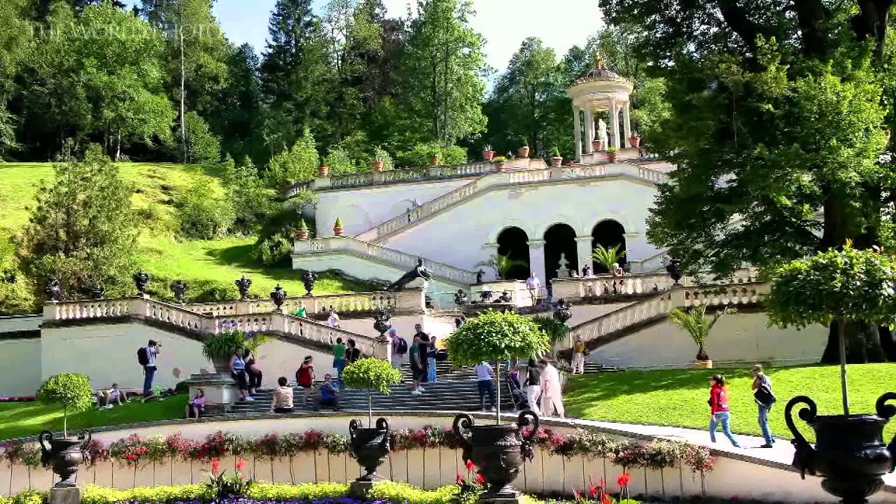 Linderhof Palace - Schloss Linderhof Germany - YouTube