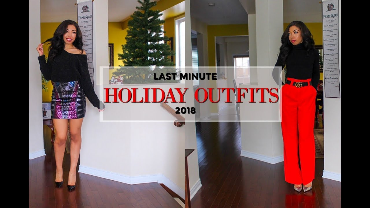 511de08dfd1b LAST MINUTE HOLIDAY PARTY OUTFIT IDEAS + Holiday   New Years ...