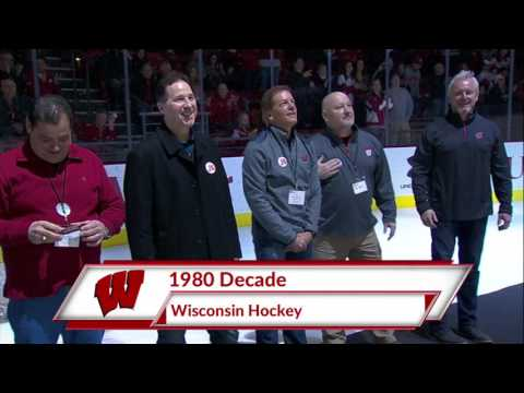 2017 Wisconsin Hockey Alumni Introduction