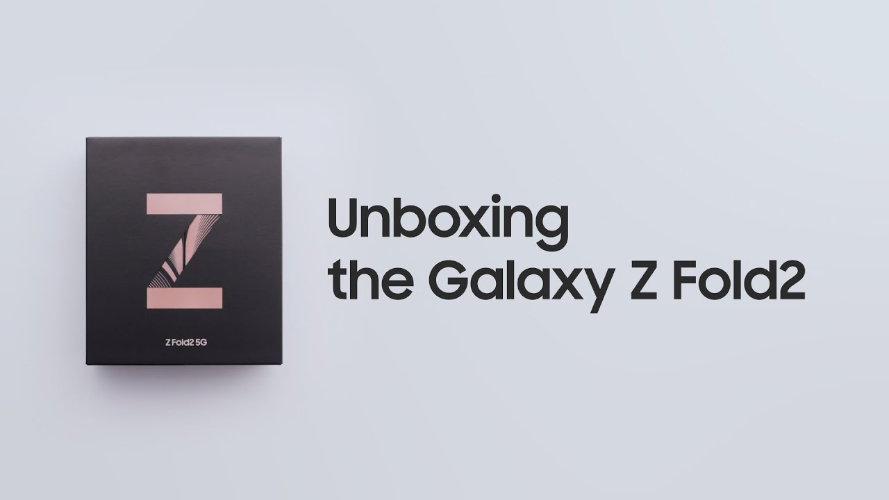 Galaxy Z Fold2: Official Unboxing | Samsung