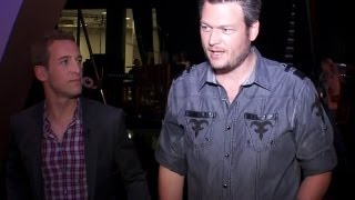 CBS This Morning - Shelton excited about wife, Lambert's ACM performance