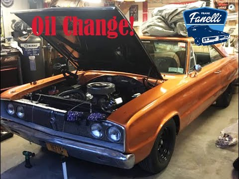 '67 Coronet 500 Oil Change Tips And Tricks