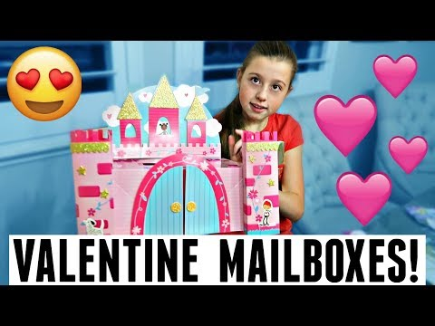 MAKING FUN VALENTINE'S DAY MAILBOXES! FAMILY VALENTINE SPECIAL!
