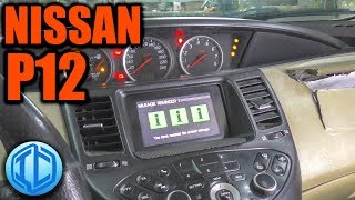 Nissan Primera P12 will not start. Repair without buying parts