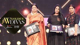JFW Golden Divas - Brinda Master on Comedian Satish Dancing skills