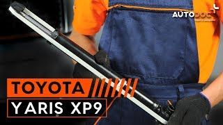 Монтаж на предни и задни Комплект спирачни дискове на TOYOTA YARIS: видео наръчници