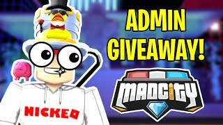 🔴 Mad City FREE ADMIN POWERS GIVEAWAY! (Admin Commands!) | Roblox Mad City NEW UPDATE 🍦