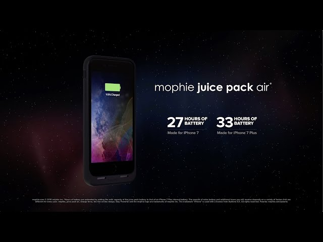 sports shoes dbb1a 121ea Mophie now shipping Juice Pack Air battery cases for iPhone 7 and 7 ...
