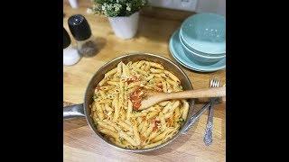 Правильное питание: паста с овощами. Едим макароны и худеем.