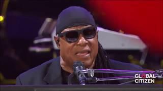Stevie Wonder 34 Isn 39 T She Lovely 34 Global Citizen 2017 New York
