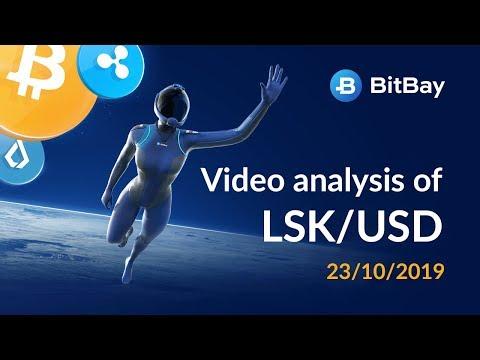 Lisk Price Technical Analysis LSK/USD 23/10/2019 - BitBay