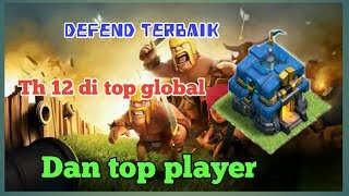 Defence terbaik th 12 di top global dan top player