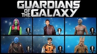 Скачать GUARDIANS OF THE GALAXY VOL 2 ACAPELLA MEDLEY Ft Chad Neidt