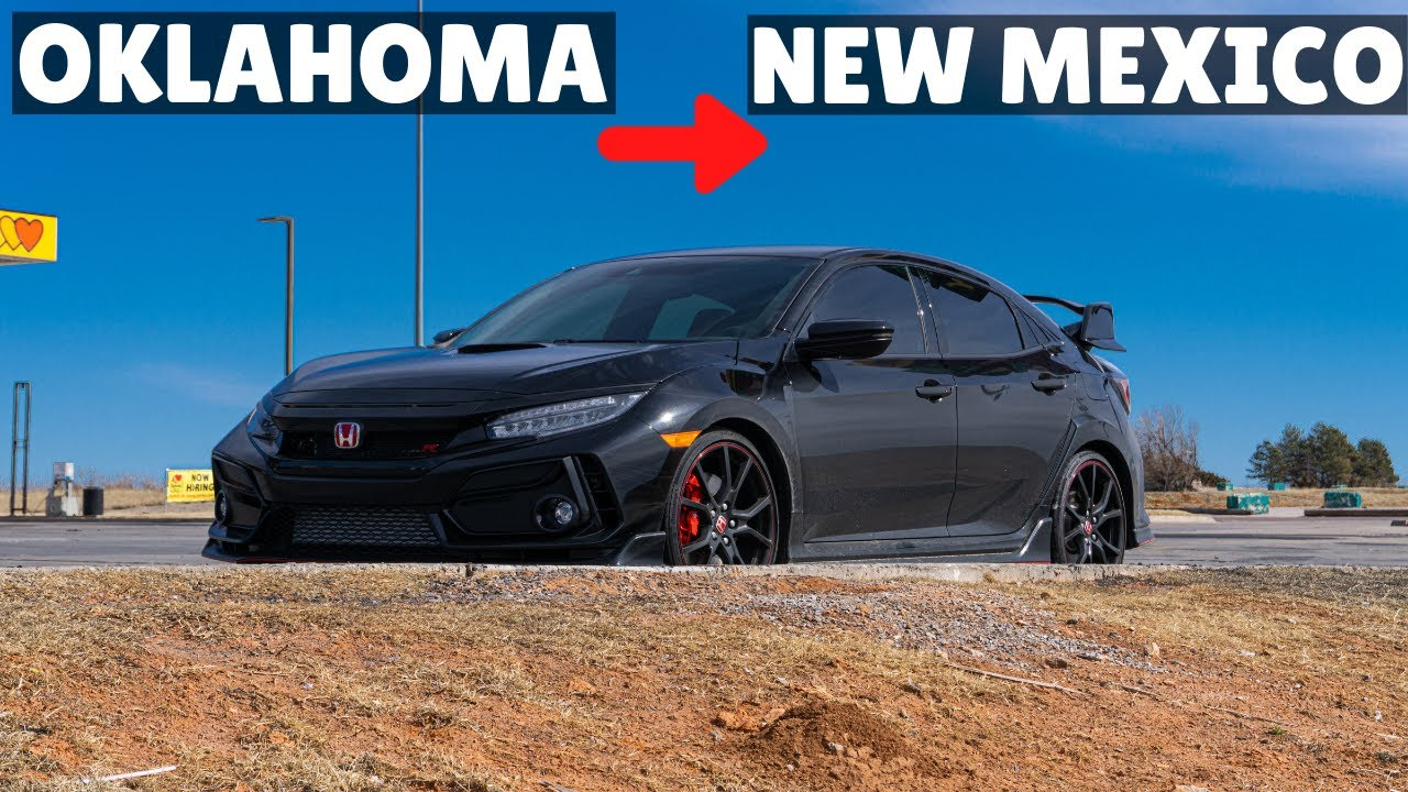 FIRST WOT(s) in my 2021 Type R | The Road Trip Continues!